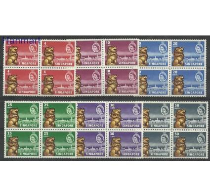 Znaczek Singapur 1959 Mi vie43-48 Czyste **