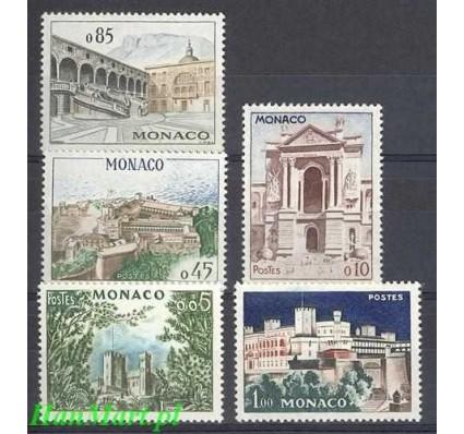 Monako 1960 Mi 644-648 Czyste **