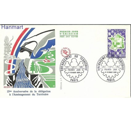 Znaczek Francja 1978 Mi 2072 FDC