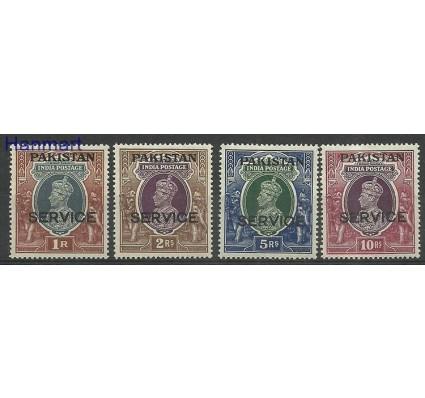 Znaczek Pakistan 1947 Mi die11-14 Z podlepką *