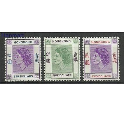 Hong Kong 1954 Mi 189-191 Z podlepką *