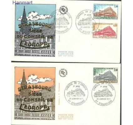 Francja 1977 Mi die20-22 FDC