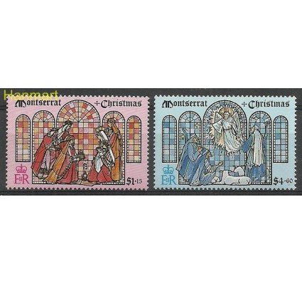 Znaczek Montserrat 1992 Mi 858-859 Czyste **