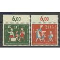 Niemcy 1957 Mi mar250-251 Czyste **
