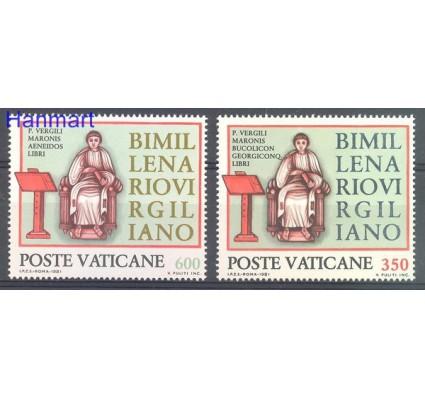 Watykan 1981 Mi 783-784 Czyste **