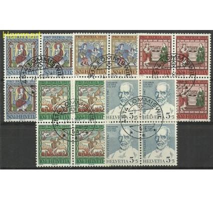 Znaczek Szwajcaria 1967 Mi 853-857 Stemplowane