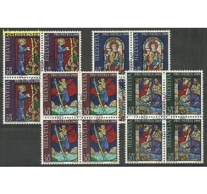 Szwajcaria 1969 Mi 902-905 Stemplowane