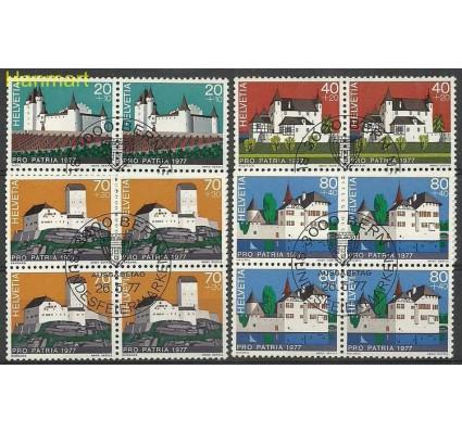 Szwajcaria 1977 Mi 1096-1099 Stemplowane