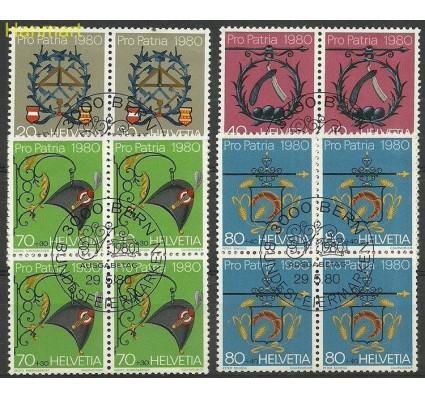 Szwajcaria 1980 Mi 1176-1179 Stemplowane