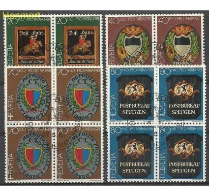 Znaczek Szwajcaria 1981 Mi 1199-1202 Stemplowane