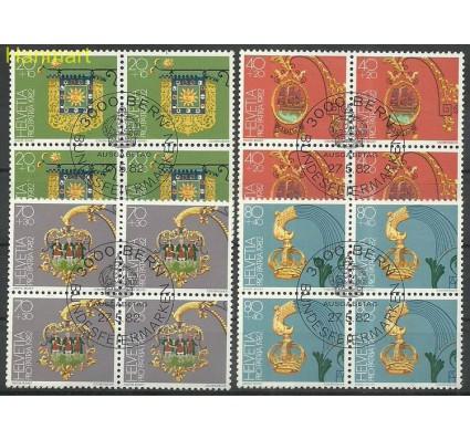 Szwajcaria 1982 Mi 1223-1226 Stemplowane