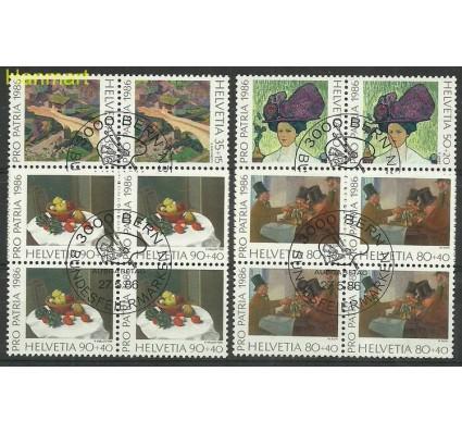 Znaczek Szwajcaria 1986 Mi 1317-1320 Stemplowane