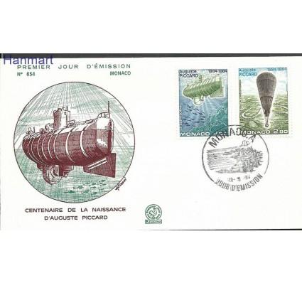Znaczek Monako 1984 Mi 1631-1632b FDC
