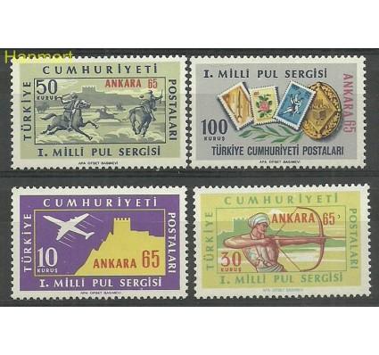 Znaczek Turcja 1965 Mi 1966-1969 Czyste **