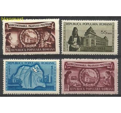Rumunia 1953 Mi 1445-1448 Czyste **