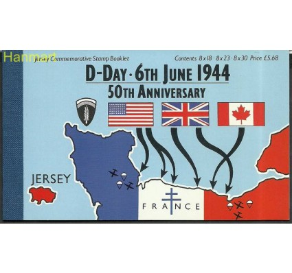 Znaczek Jersey 1994 Mi mh 6 Czyste **