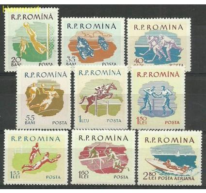 Znaczek Rumunia 1959 Mi 1802-1810 Czyste **