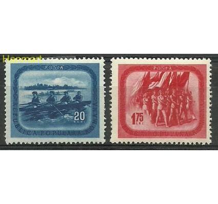 Znaczek Rumunia 1952 Mi 1411-1412 Z podlepką *