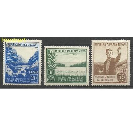 Znaczek Rumunia 1953 Mi 1439-1441 Z podlepką *