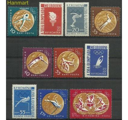 Znaczek Rumunia 1961 Mi 2010-2019 Z podlepką *