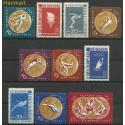 Rumunia 1961 Mi 2010-2019 Z podlepką *