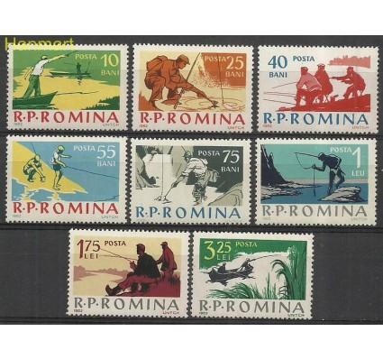 Znaczek Rumunia 1962 Mi 2078-2085 Z podlepką *