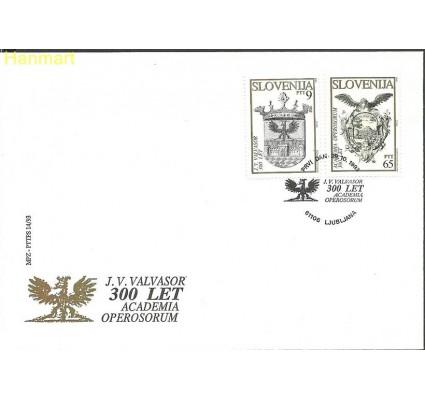 Słowenia 1993 Mi 67-68b FDC