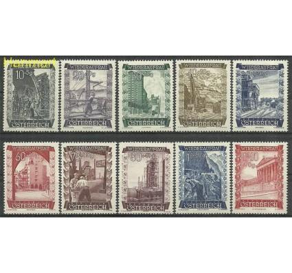 Znaczek Austria 1948 Mi 858-867 Czyste **