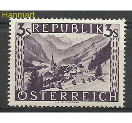 Austria 1947 Mi 852 Czyste **