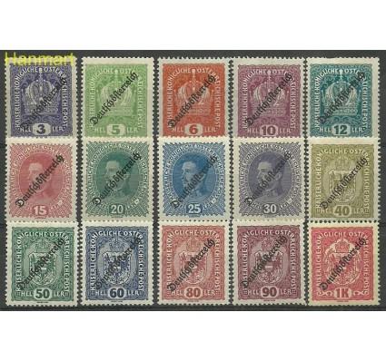 Znaczek Austria 1918-1919 Mi 228-242 Z podlepką *