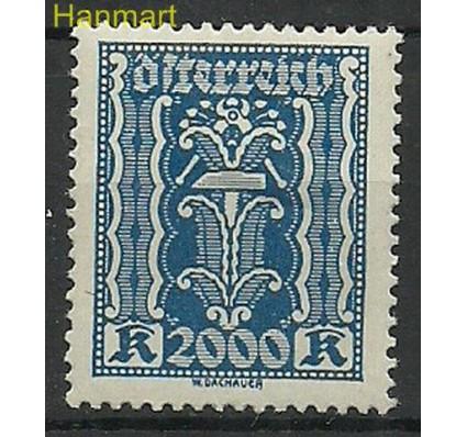 Austria 1923 Mi 395 Z podlepką *
