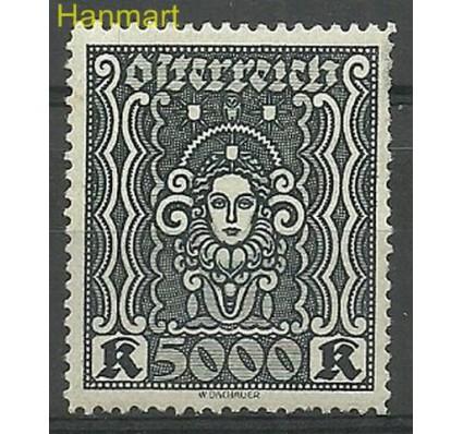 Austria 1923 Mi 407 Z podlepką *