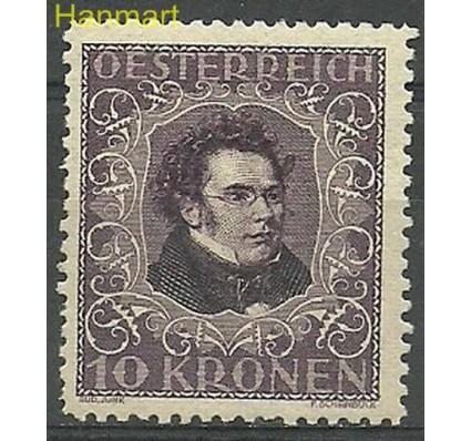 Znaczek Austria 1922 Mi 421B Z podlepką *
