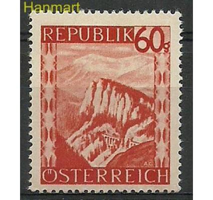 Austria 1947 Mi 846 Z podlepką *