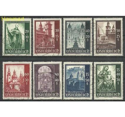 Znaczek Austria 1948 Mi 885-892 Stemplowane