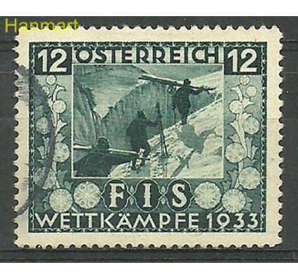 Austria 1933 Mi 551 Stemplowane