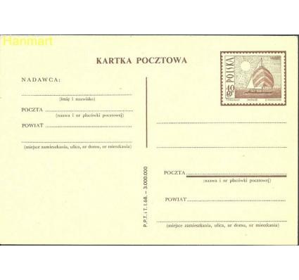 Znaczek Polska 1967 Fi Cp 316 Całostka pocztowa