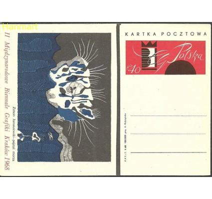 Znaczek Polska 1968 Fi Cp 378a Całostka pocztowa