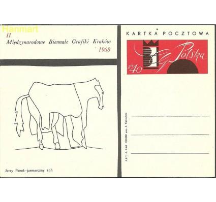 Znaczek Polska 1968 Fi Cp 378b Całostka pocztowa