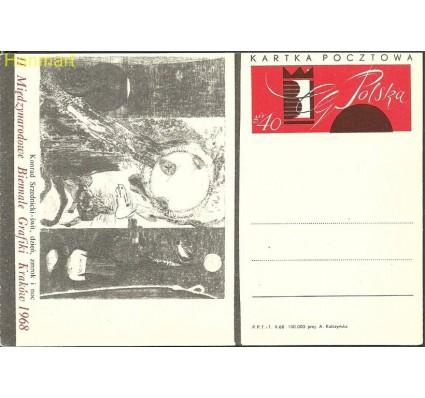 Znaczek Polska 1968 Fi Cp 378c Całostka pocztowa