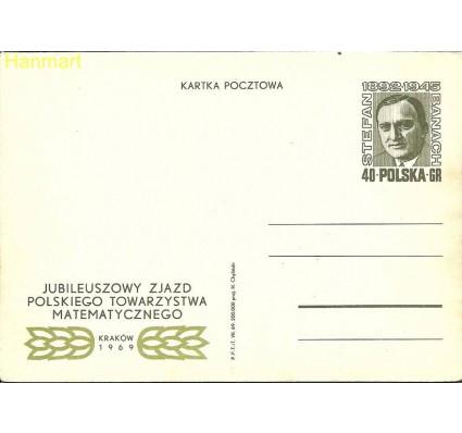 Znaczek Polska 1969 Fi Cp 417 Całostka pocztowa