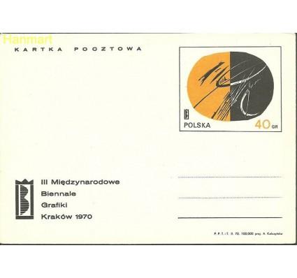 Znaczek Polska 1970 Fi Cp  441 Całostka pocztowa