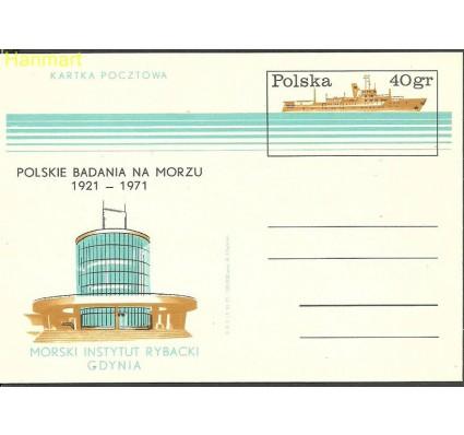 Znaczek Polska 1971 Fi Cp 494 Całostka pocztowa