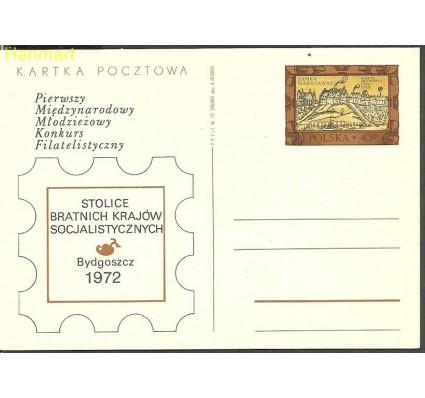 Znaczek Polska 1972 Fi Cp 522b Całostka pocztowa