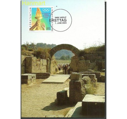 Znaczek Liechtenstein 2004 Mi 1347 Karta Max