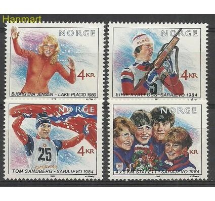 Znaczek Norwegia 1989 Mi 1027-1030 Czyste **