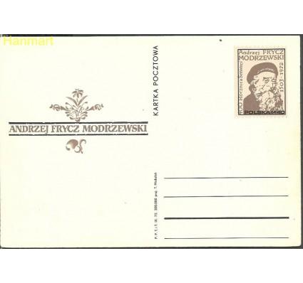 Znaczek Polska 1972 Fi Cp 538 Całostka pocztowa