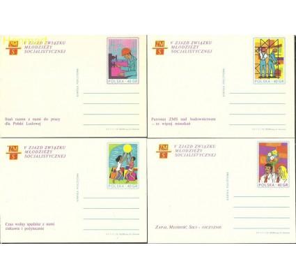 Znaczek Polska 1972 Fi Cp 542-545 Całostka pocztowa