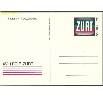 Znaczek Polska 1973 Fi Cp 554 Całostka pocztowa