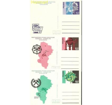 Znaczek Polska 1974 Fi Cp 600-602 Całostka pocztowa